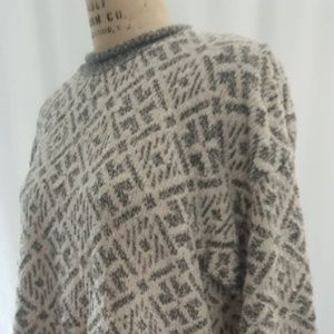 Vintage DVF pullover slouchy sweater